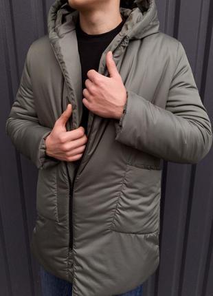 Зимняя куртка-пальто мужское