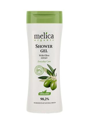 Гель для душа Melica Organic с экстрактом оливы 250 мл