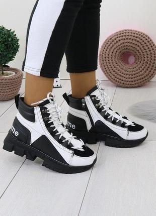 Зимние спортивные ботинки 36,40р