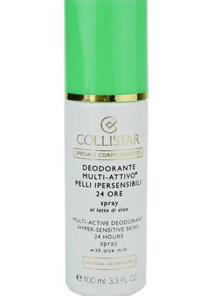 Collistar Special Perfect Body антиперспірант-спрей для чутлив...