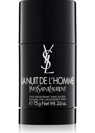 Yves Saint Laurent La Nuit de L'Homme дезодорант-стік для чоло...