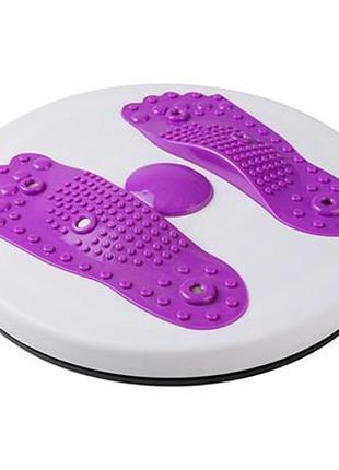 Диск здоровья World Sport магнитный с массажем стоп фиолетовый...