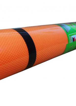 Йогамат, коврик для йоги M 0380-1 материал EVA ((Оранжевый))