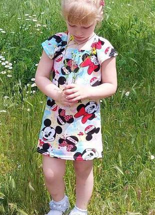 Детское платье для девочки, летнее платье, акция скидка 50% лу...