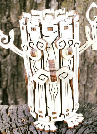 """Копилка деревянная  """"лесовик"""" копилка с секретом, подарок, сув..."""