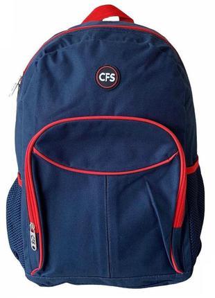 Городской рюкзак, универсальный синий рюкзак