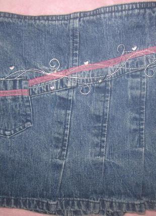 Юбка стильная джинс