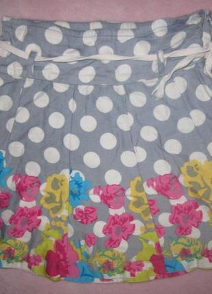 Красивая юбка с шортами