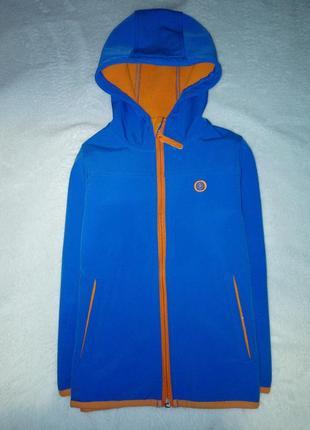 Термо курточка ветровка на флисе