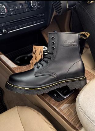 Dr.martens кожаные меховые женские ботинки /осень/зима/весна😍