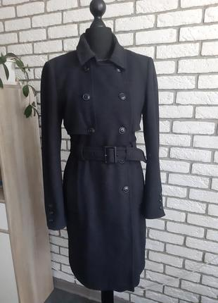 Винтажное женское шерстяное пальто gestuz, верхняя одежда, шинель