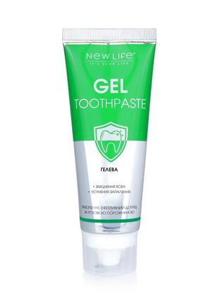 Зубная паста гелевая gel toothpaste