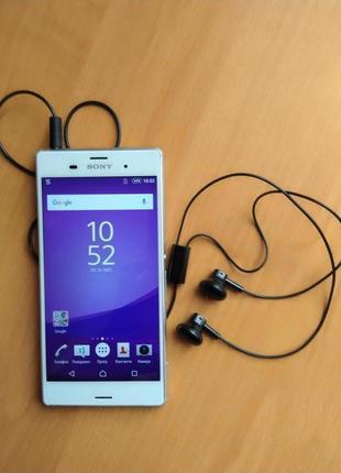 Sony Xperia Z3 D6603 White, полностью рабочий, оригинал
