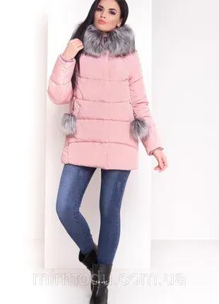 Куртка, зимний пуховик, женский