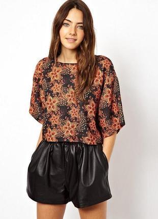 Шикарная блуза блузка свободного кроя