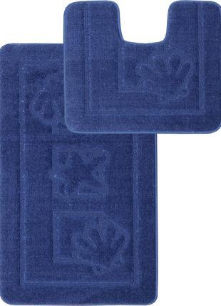 Набор ковриков в ванную комнату Relana Elana Maritime 50x80 + ...