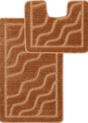 Набор ковриков в ванную комнату Relana Elana 5336 50x80 + 50x4...