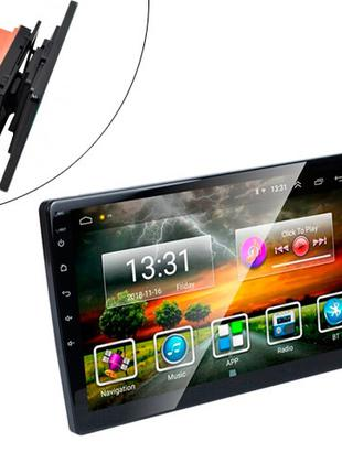 "Автомагнитола 10.1"" 1/16ГБ Android 9 Wi-Fi GPS 2xUSB MP5 2 DIN..."