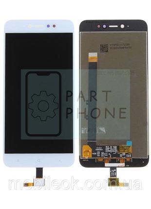 Дисплей Xiaomi Redmi Note 5A 2/16 Gb MDG6 + тачскрин белый