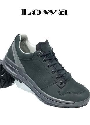 Кожаные мужские ботинки lowa оригинал
