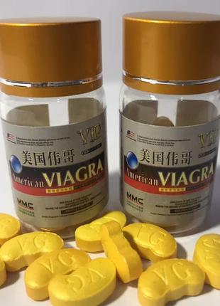 Таблетки Виагра / American Viagra 10 шт 9800 мг сильные таблетки