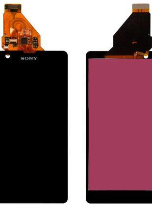 Дисплей Sony C5502 M36h Xperia ZR с тачскрином (Black)