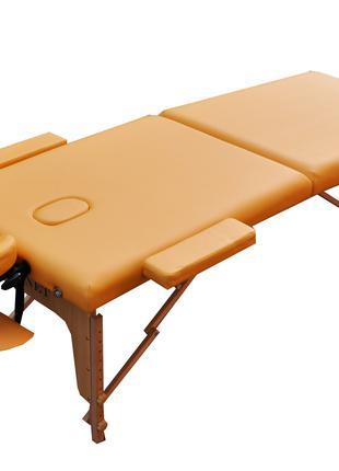 Массажный стол складной ZENET. Песочный, размер M ( 185*70*61)