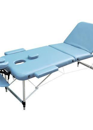 Профессиональный складной массажный стол ZENET размер M ( 185*...