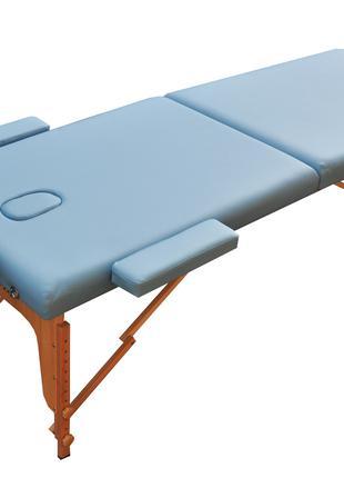Массажный стол складной ZENEТ. Небесно голубой размер L (195*7...