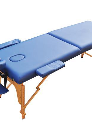 Массажный стол раскладной ZENET. Темно синий размер M (185*70*61)