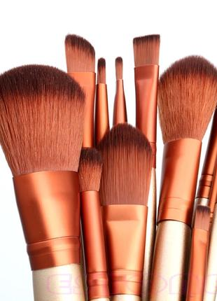 Набор кистей для макияжа ( 12 шт)