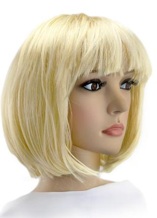 Парик Каре (блонд)