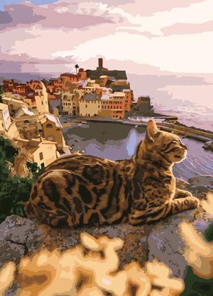 """Картина по номерам """"Величественный кот"""""""