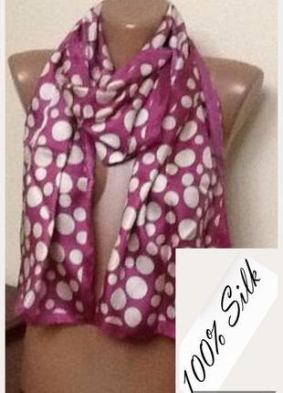 Шелковый шарф от john lewis