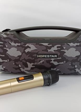 Bluetooth колонка HOPESTAR A6 Pro с микрофоном ОРИГИНАЛ, 55 Вт