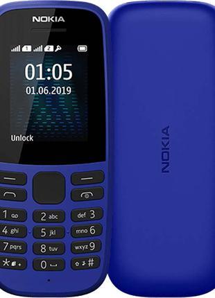 Мобильный телефон Nokia 105 (TA-1203) Blue (6520088)