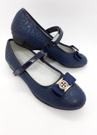 Скидка классические туфли на девочку 34,36 р kellaifeng