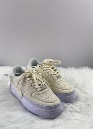 Кроссовки: nike air force 1 jester white.