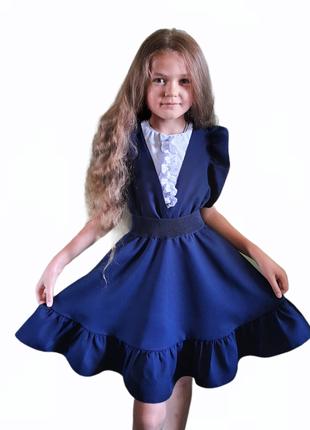 Супер комплект✔ школьный сарафан +блузка. готовимся к школе