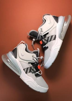 Кроссовки: nike air force 270 grey