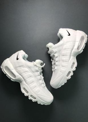 Кроссовки: nike air max 95 white