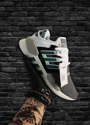Кроссовки: adidas equipment black white green