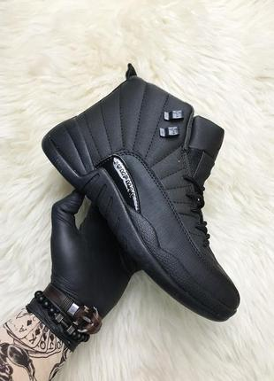 Nike air jordan 12 retro black.
