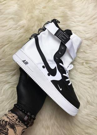 Air force special field white black