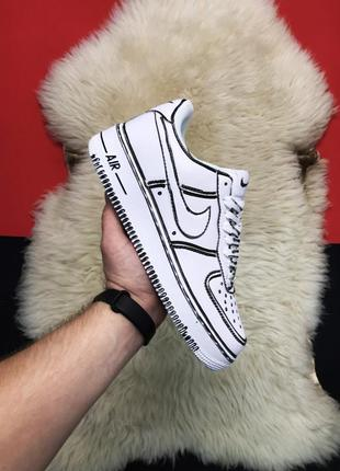 Nike air force 1 cartoon