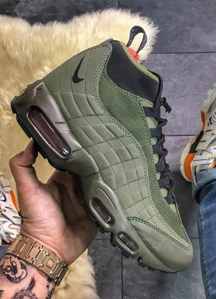 Nike air max 95 sneakerboot green.