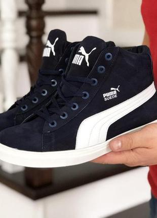 Ботинки: puma suede.