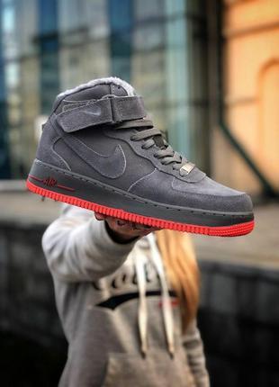 Nike air force (зима)