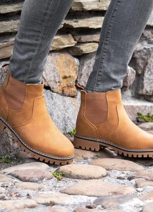 Мужские зимние  дизайнерские  ботинки