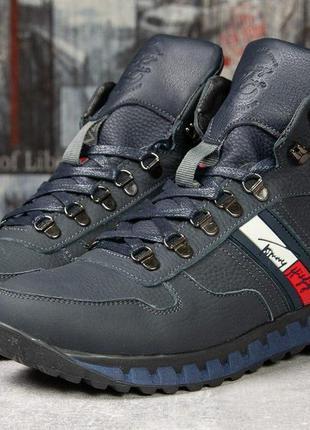 Зимние ботинки на меху tommy hilfiger tech motion,